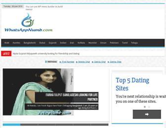 whatsappnumb.com screenshot