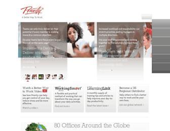prioritymanagement.com screenshot