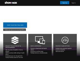 showmax.com screenshot