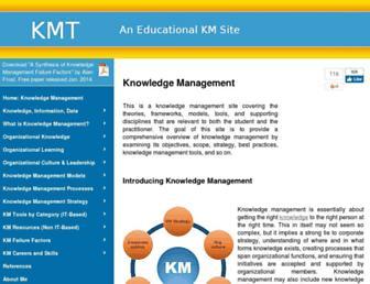 knowledge-management-tools.net screenshot