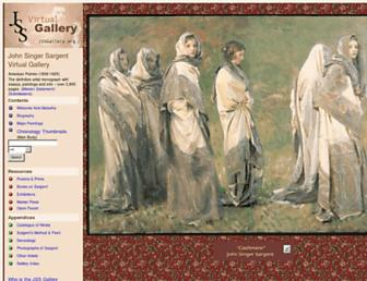 Main page screenshot of jssgallery.org