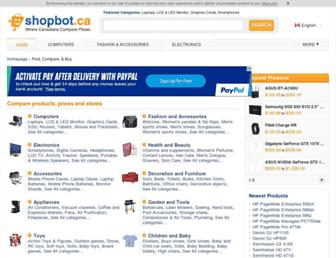 shopbot.ca screenshot