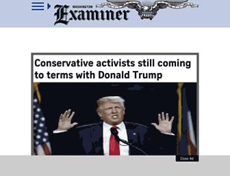 Thumbshot of Washingtonexaminer.com