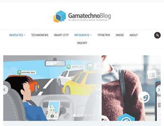 blog.gamatechno.com screenshot