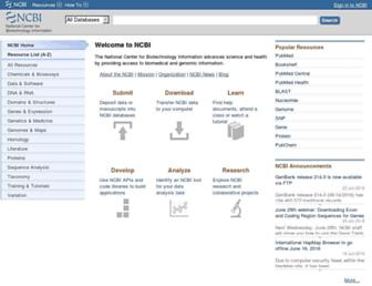 ncbi.nlm.nih.gov screenshot