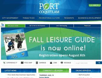 Thumbshot of Portcoquitlam.ca