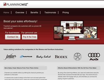 planningwiz.com screenshot