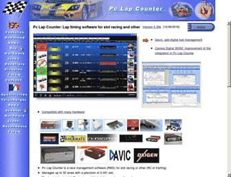 pclapcounter.be screenshot