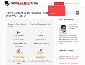 Thumbshot of Bloggertipstricks.com