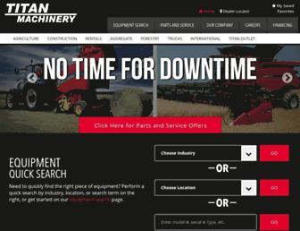 titanmachinery.com screenshot