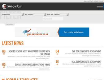 Thumbshot of Cmsgadget.com