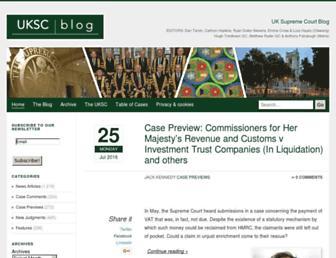 ukscblog.com screenshot