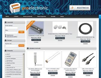 proelectronic.rs screenshot