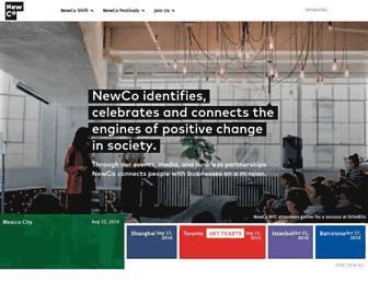 Main page screenshot of openco.us