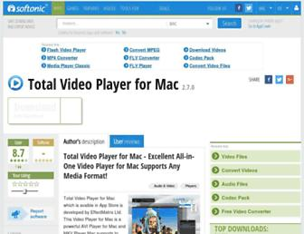 total-video-player-for-mac.en.softonic.com screenshot