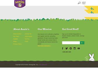 Thumbshot of Annies.com