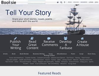 Thumbshot of Booksie.com