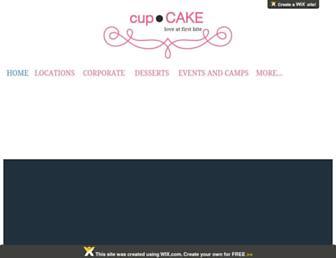 iwannacupcake.com screenshot