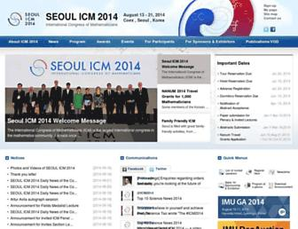 Thumbshot of Icm2014.org
