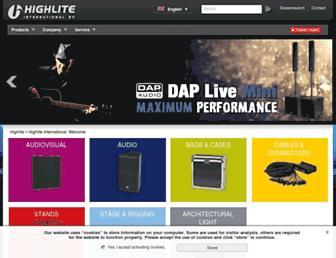 highlite.nl screenshot