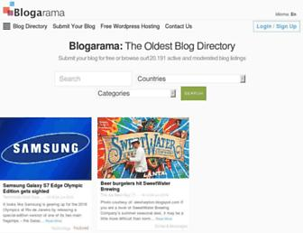 blogarama.com screenshot