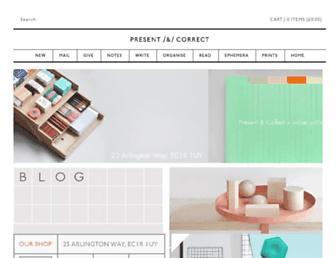 Thumbshot of Presentandcorrect.com