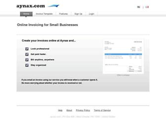 aynax.com screenshot