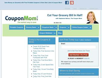 Thumbshot of Couponmom.com