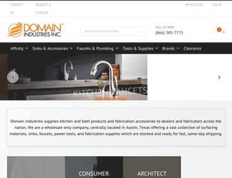 domainindustries.com screenshot