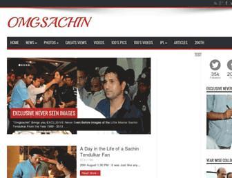 omgsachin.blogspot.com screenshot