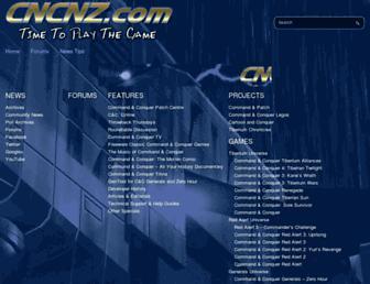 cncnz.com screenshot