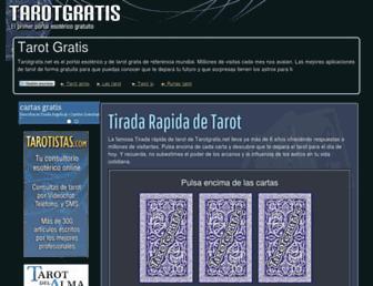 Fullscreen thumbnail of tarotgratis.net