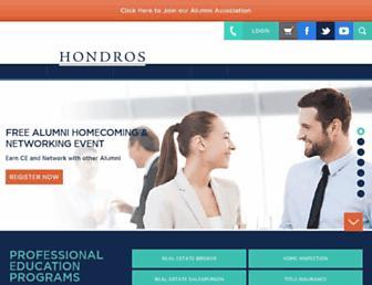 hondros.com screenshot