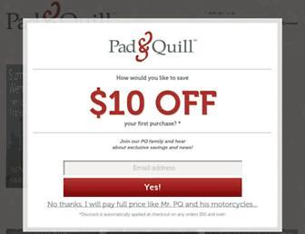 Thumbshot of Padandquill.com