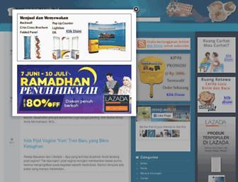 Main page screenshot of resep.web.id