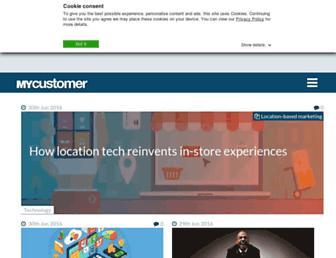 mycustomer.com screenshot