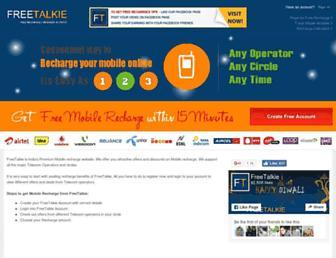 Thumbshot of Freetalkie.com