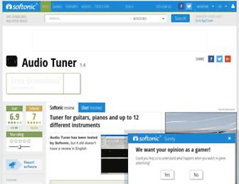 audio-tuner.en.softonic.com screenshot
