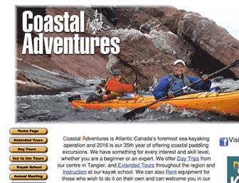 coastaladventures.com screenshot