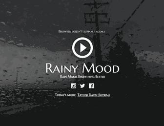 Thumbshot of Rainymood.com