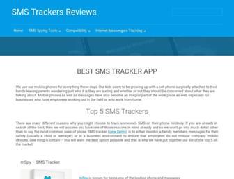 smstrackers.com screenshot