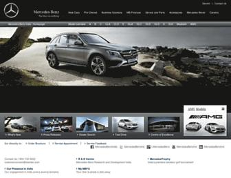 Thumbshot of Mercedes-benz.co.in