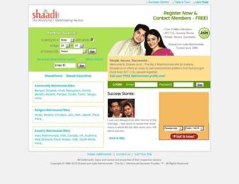 Thumbshot of Shaadi.co.in