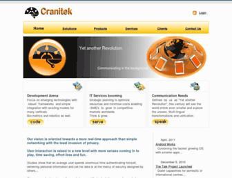 cranitek.com screenshot