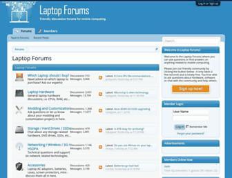 laptop-forums.com screenshot