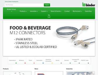 binder-usa.com screenshot