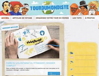 tourdumondiste.com screenshot