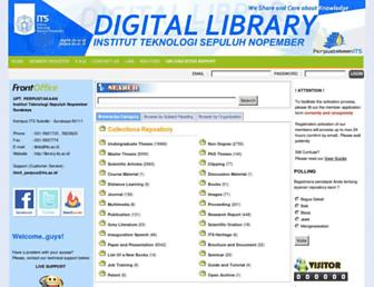 digilib.its.ac.id screenshot