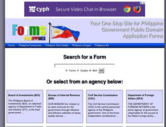 formsphilippines.com screenshot