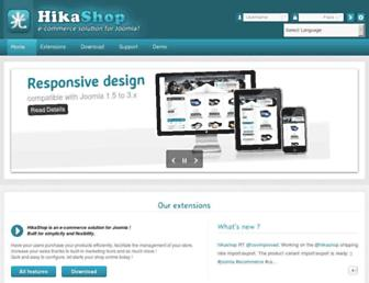 hikashop.com screenshot